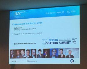Prolog bei der ILA Berlin